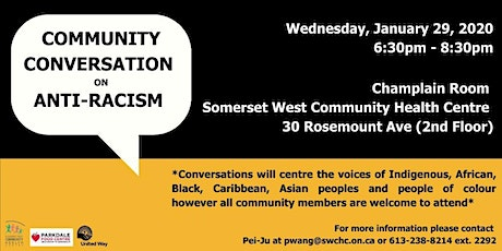 Community Conversation on Anti-Racism tickets