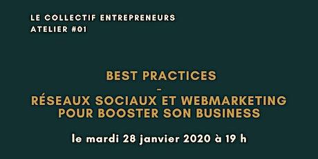 BEST PRACTICES : RESEAUX SOCIAUX ET BUSINESS billets