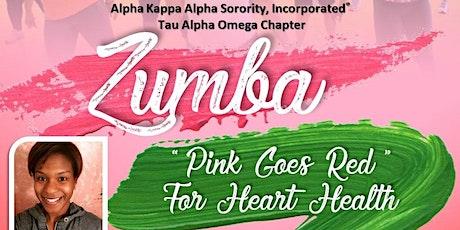 AKA TAO Pink Goes Red Zumba tickets