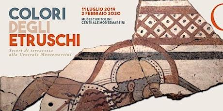 I colori degli Etruschi biglietti