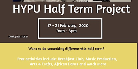 HYPU S.O.C.A February Half Term 2020 tickets
