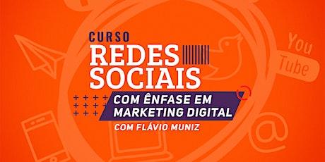 Curso Redes Sociais com Ênfase em Marketing Digital em São Paulo ingressos