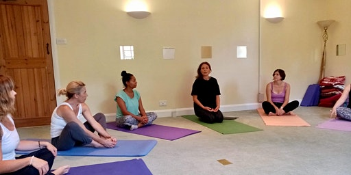 One off taster Yoga session with Frances Robertson-Ritchie