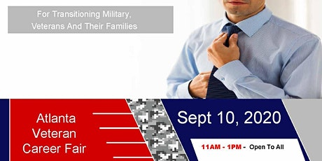 Atlanta Veteran Job Fair - Sept 2020 tickets