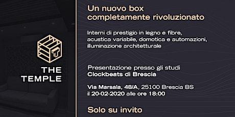 """Inaugurazione """"THE TEMPLE"""", il nuovo studio domotico. biglietti"""