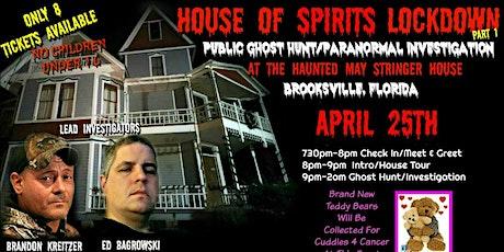 House Of Spirits Lockdown Part 1 tickets