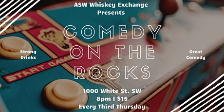 Comedy On The Rocks at ASW Whiskey Exchange tickets