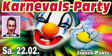 Karnevals-Party Tickets