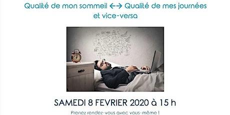 Atelier Santé Bien Etre :  Améliorer votre sommeil tickets