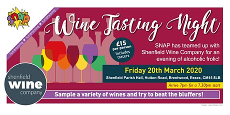 SNAP Wine Tasting Night tickets