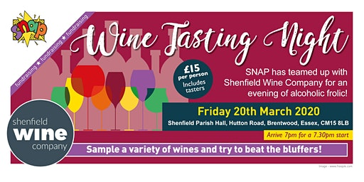 SNAP Wine Tasting Night