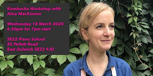 Kombucha Workshop with Alice MacKinnon in East Dulwich