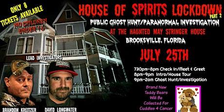 House Of Spirits Lockdown Part 2 tickets