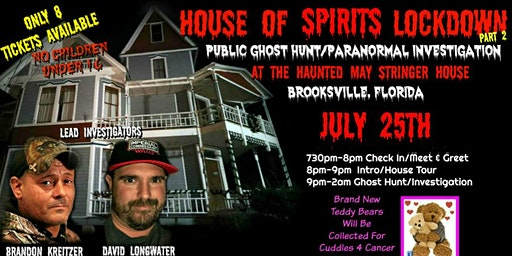 House Of Spirits Lockdown Part 2