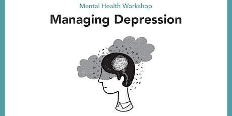 Mental Health Workshop: Managing Depression tickets