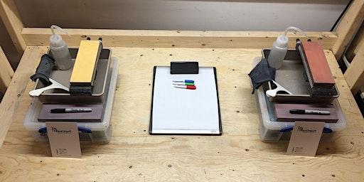 Knife sharpening workshop (in english)
