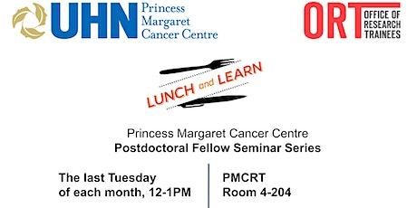 PMCC Postdoctoral Fellow Seminar Series - January 2020 tickets