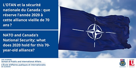 NATO and Canada's National Security | L'OTAN et la sécurité nationale tickets
