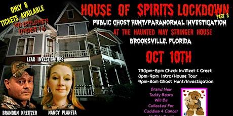 House Of Spirits Lockdown Part 3 tickets