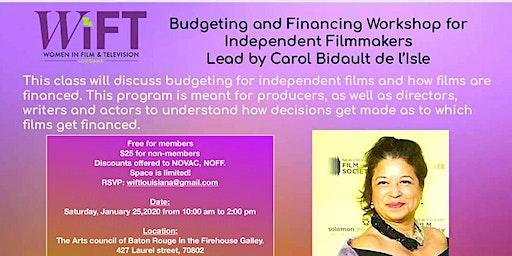 Budgeting & Financing Workshop for Independent Filmmakers