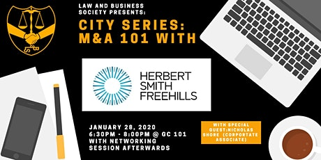 City Series: M&A 101 with Herbert Smith Freehills tickets