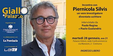 Giallo a Palazzo - incontro con Piernicola Silvis biglietti