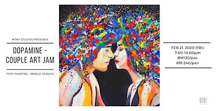 Tipsy Painting Mingles Night - Dopamine (Couple Art Jam) tickets