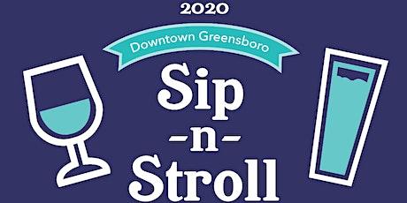 POSTPONED: 2020 Sip-N-Stroll: A Beer and Wine Experience tickets