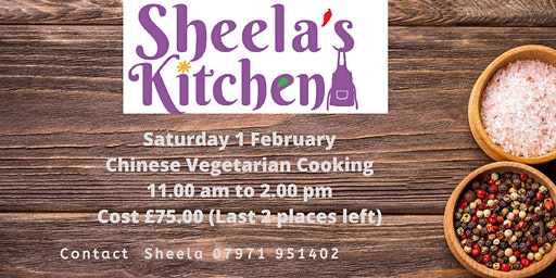Chinese Vegetarian Cookery Class