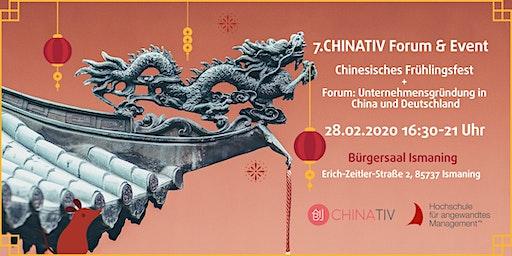 7. CHINATIV Forum & Event Frühlingsfest & Unternehmensgründung