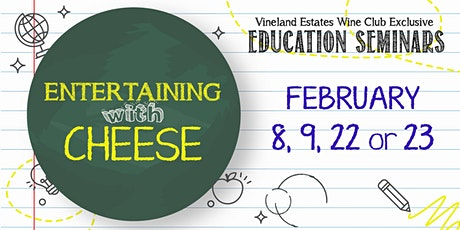 Entertaining with Cheese - FEB 8, 9, 22 or 23 tickets
