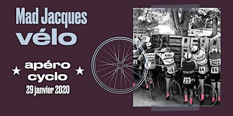 Apéro cyclo Mad Jacques Vélo 2 billets