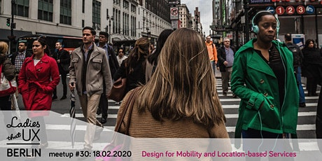 Meetup #30: Design Talks: Designing for Mobility & Location-based Services tickets