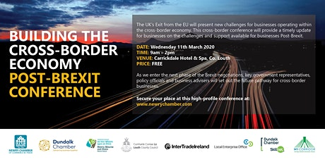 CONFERENCE: Building The Cross-Border Economy Post-Brexit tickets