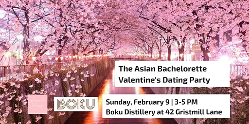The Asian Bachelorette Valentine's Dating Party