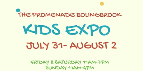 Kids Expo at The Promenade tickets