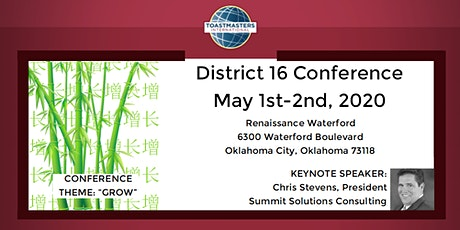 District 16 Conference tickets