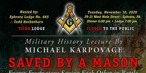 Saved by a Mason with Michael Karpovage