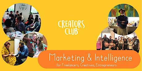 Newcastle Creators Club   MARCH FOCUS: Marketing & Intelligence tickets
