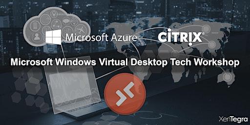 Richmond, VA: Microsoft Windows Virtual Desktop Tech Workshop  (02/18/2020)