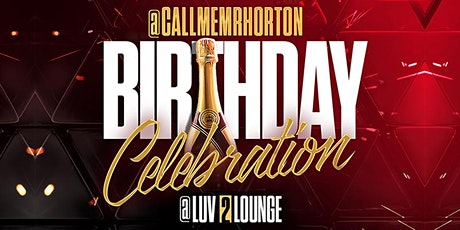 D-LO BIRTHDAY TAKEOVER! @LUV2 LOUNGE tickets