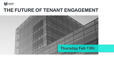 The Future of Tenant Engagement tickets