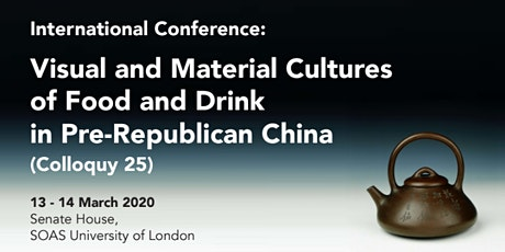Visual and Material Cultures of Food and Drink in Pre-Republican China tickets