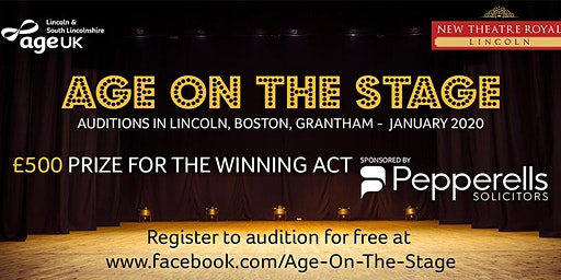 Age on the Stage Auditions