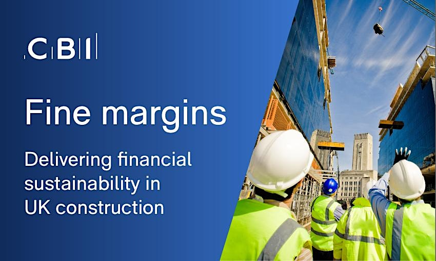 Construction Report Launch - Financial Sustainability in UK Construction