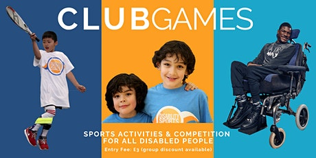 2020 DSC West Games - sports event for disabled people tickets