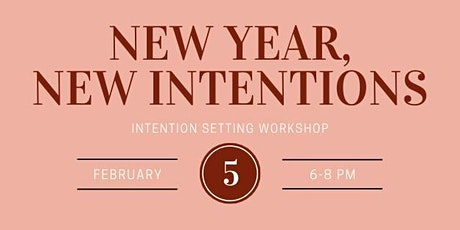 New Year, New Intentions: Goal Setting Workshop tickets