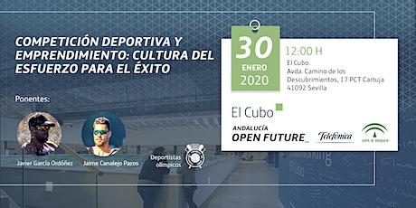 'Competición deportiva y emprendimiento' , en El Cubo entradas