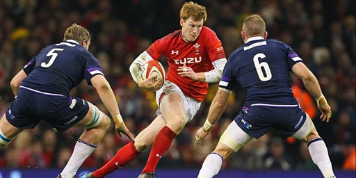Wales V Scotland at Bar Saint James