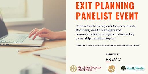 Exit Planning Panelist Event